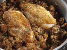 What's cooking? Baked chicken!