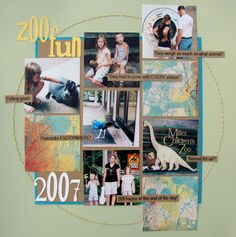 Zoo Fun - Scrapbook.com