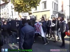 "Sciopero Ataf:cori contro Renzi ""Renzi vaff..."""