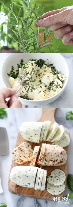 Put those homegrown herbs to use. Make herb butter. It's delicious in pasta, on bread, on steak, in mashed potatoes. The list goes on!