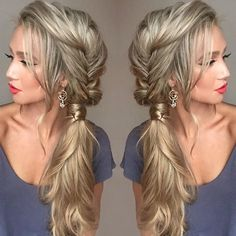 """5,269 Likes, 64 Comments - Luxy Hair (@luxyhair) on Instagram: """"This hairstyle 😍😍 Double tap if you like it ❤️ This beauty @stephanie_danielle has been enjoying…"""""""