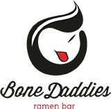 E - check out the superb sake and don't skip dessert as the sesame ice-cream is outta this world Bone Daddies Ramen Bar, Soho London - Taste the Noodle! Rock n Roll! London Eats, London Food, Asian Restaurants, London Restaurants, Ramen Bar, Noodle Bar, Bar Logo, London Places, Restaurant Bar