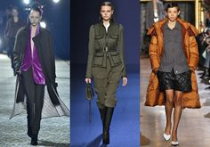 Tendências de inverno: jaquetas doudoune, veludo, militar e muito mais direto de Paris