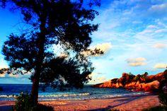 Rambak Beach on Bangka Island, Indonesia