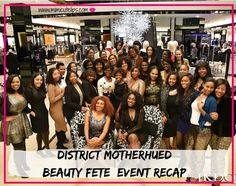 Lifestyle Blogger MimiCuteLips is recapping the District MotherHued Beauty Fete Event. Features Bloomingdale's, Lancome and more. #DistricMotherHued #DMVMomTribe