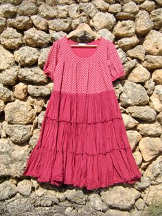 Urban Shabby Chic Upcycled Dress XL Full Skirt by NuLifeClothing, $50.00