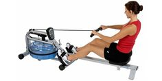 ProRower H2O RX-750 Rowing Machine Review  #rower #gym