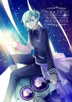 Uta no Prince Sama ♪♫•*¨*•.¸¸❤¸¸.•*¨*•♫♪ Mikaze Ai #Otome #Anime #Game