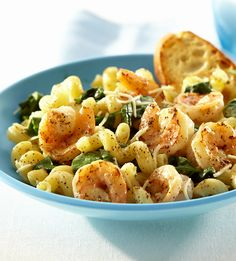Lemon Pepper Pasta with Shrimp is an easy weeknight dinner that has a bright, peppery flavor.