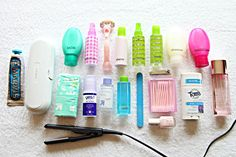 DIY: Traveling with Toiletries