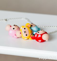 Korilakkuma necklace from Pikku Shop | www.pikku-shop.com