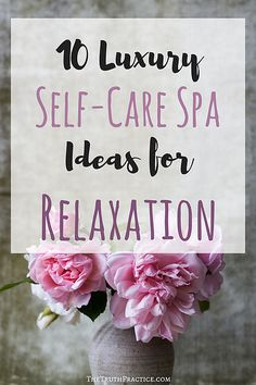 Looking for a way to create a luxury at home spa? Want new self-care items to help you create you own home oasis? Check out this list of 10 Self-Care Spa Items