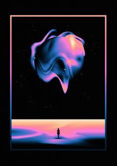 vaporwave graphism Various illustration works Graphic Design Posters, Graphic Design Illustration, Graphic Design Inspiration, Design Visual, Game Design, Colores Art Deco, Crea Design, Inspiration Artistique, 3d Art