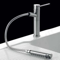 Buy the Clearwater Sirius Top Lever Mono Kitchen Mixer with Swivel Spout and Pull Out Aerator - Stainless Steel from Tap Warehouse and enjoy our huge savings! Kitchen Mixer, Big Kitchen, Kitchen Taps, Boiling Water Tap, Stainless Steel Taps, New Tap, Shower Fittings, Kitchen Trends, Water Systems