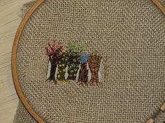 Broderi / Embroidery workshop with Rikke Ruff | by Elise-filt
