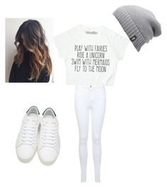 """Untitled #1"" by trishabear0-0 ❤ liked on Polyvore featuring Miss Selfridge, Yves Saint Laurent and The North Face"