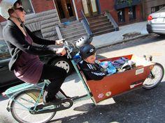 Bakfiet Cargo Bike Family Biking