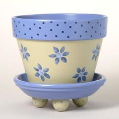 Idea Of Making Plant Pots At Home // Flower Pots From Cement Marbles // Home Decoration Ideas – Top Soop Flower Pot Art, Flower Pot Design, Clay Flower Pots, Flower Pot Crafts, Cactus Flower, Clay Pots, Clay Pot Projects, Clay Pot Crafts, Diy Projects To Try