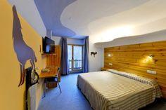 Habitaciones de #Hotel Les Brases, entorno #natural para descansar