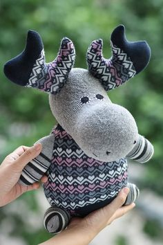 T3 Gift ideas For kids Plush stuffed animal by Toyapartment