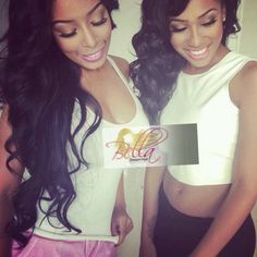Weave on point! Elease Donovan from #Bgc8 rocking that Bella dream!