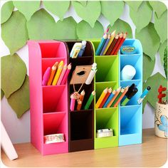 Cheap sock drawer, Buy Quality organizer storage box directly from China pen storage box Suppliers: Pen storage box 4 Cells Plastic Organizer Storage Box Tie Bra Socks Drawer Cosmetic Divider Tidy Office Pen Pencil Holder 2018 Underwear Organization, Diy Organisation, Desktop Organization, Storage Organization, Makeup Organization, Office Storage, Organizing, Diy Drawer Organizer, Plastic Organizer