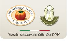 MELANZANA ROSSA DI ROTONDA DOP -  FAGIOLO BIANCO DI ROTONDA DOP