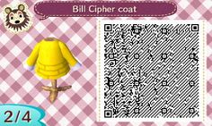 "perstyle: ""A Bill Cipher coat! The mayor will be watching you all. """