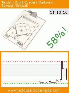 Tandem Sport Coaches Clipboard Baseball/Softball (Sports). Drop 58%! Current price C$ 13.16, the previous price was C$ 31.44. https://www.adquisitiocanada.com/tandem/coaches-clipboard-0