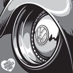 "690 Me gusta, 8 comentarios - LikeHell (@likehelldesign) en Instagram: ""W H E E LW E D N E S D A Y Featuring the custom split VW Beetle wheel from the @Wheel_Whores…"" #VolkswagenGolfVariantCustom"
