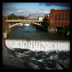 While a student at Whitworth, I worked at the E. Historical Society Library cataloging many photos of early Spokane including this location. Beautiful Scenery, Beautiful Landscapes, Beautiful World, The Places Youll Go, Places Ive Been, Places To Go, Spokane Washington, Washington State, Pacific Coast