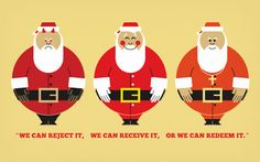 """what we tell our kids about santa"" article by pastor mark driscoll"