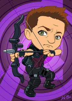 Clint Barton AKA Hawkeye by Kevin Bolk