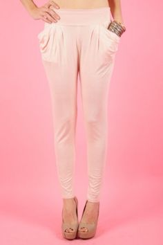 Stylish Modern Harem Pants with Skinny Fit Accent and Essential Pockets. For only $32-Join today for FREE