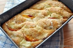 Hello folks. I know, I know- I have been gone a few days. Sometimes, you just need a visit to LaLa land. I made this breakfast cake for my in-laws. See, I had these peaches and I am still on the cr…