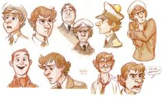 Cabin Pressure coming out as an animation! The adorableness that is Martin Crieff Estilo Disney, Character Concept, Character Design, Cabin Pressure, Dog Sounds, Pie In The Sky, The Last Unicorn, Yellow Car, Expressive Art