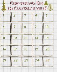 The Sampler Girl's Blog- Christmas Advent calendar freebie