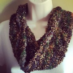Forest Cowl Free Shipping Summer Sale  by KnittedWool on Etsy, $32.00