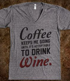 Coffee & Wine...