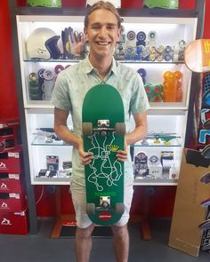We're crazy stoked we could hook up with this x deck on this sunny Enjoy it & skate safe bro! Almost Skateboards, Bro, Deck, Instagram Posts, Shopping, Front Porches, Decks, Decoration