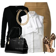 """""""Work Wear"""" by uniqueimage on Polyvore"""