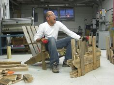 Pallet Adirondack Chair Diy Guide (pdf Version)