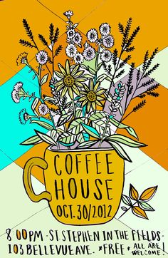 coffeehouse poster - Google Search