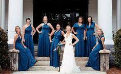 Bridesmaids transformer dresses