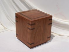 Arizona Urns designs and hand makes wood cremation urns from exotic hard woods. We make box cremation urns of all sizes and all types of hard woods. We also create custom cremation urns. Cremation Boxes, Cremation Urns, Wooden Storage Boxes, Wooden Boxes, Wooden Box Designs, Burial Urns, Dog Urns, How To Make Box, Custom Wood