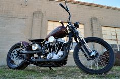 Ironhead | Bobber Inspiration - Bobbers and Custom Motorcycles | inallthingsbalance February 2013