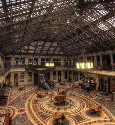 Ellicott Square Building   Buffalo, NY Was at one time the Tallest Building in the World (10 Stories)