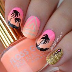 30 Eye-Catching Summer Nail Art Designs