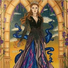 I adore her dress, her character, all of it! ❤️ this is my feyre
