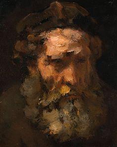 Rembrandt van Rijn Head of St. Rembrandt Paintings, Rembrandt Portrait, Saint Matthew, Oil Portrait, Pencil Portrait, Guache, National Gallery Of Art, European Paintings, Canvas Prints